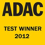 ADAC test Winner 2012, Best place to Rent